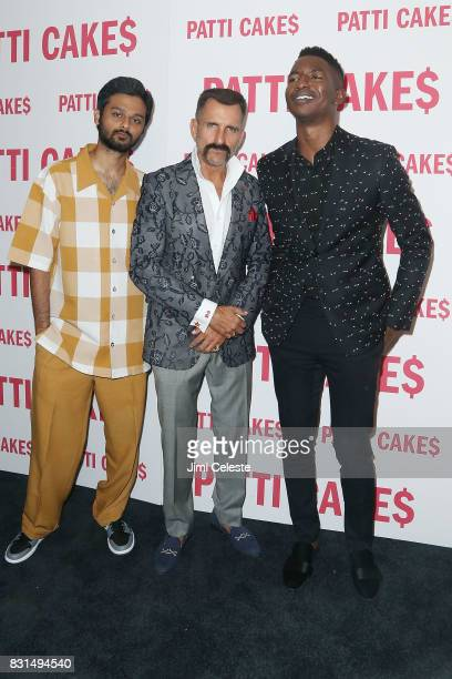 Siddharth Dhananjay Wass Stevens and Mamoudou Athie attend the New York premiere of 'Patti Cake$' at Metrograph on August 14 2017 in New York City