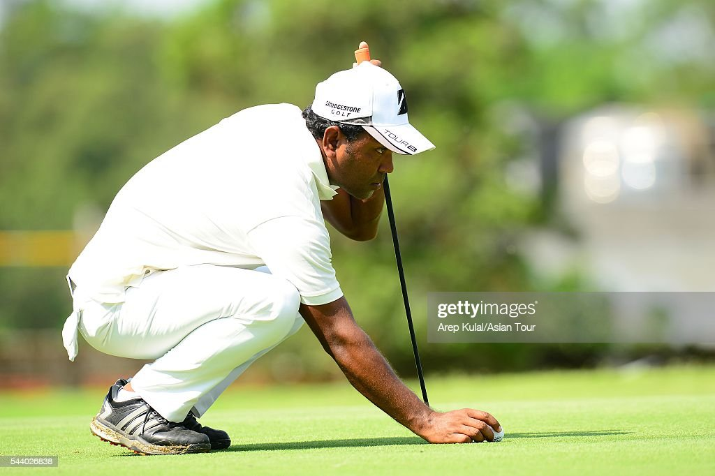 Siddikur Rahman of Bangladesh pictured during the round 2 of the Yeangder Tournament Players Championship 2016 at Linkou International Golf Club on July 1, 2016 in Taipei, Taiwan.