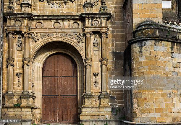 Side door of Cathedral in Plasencia.
