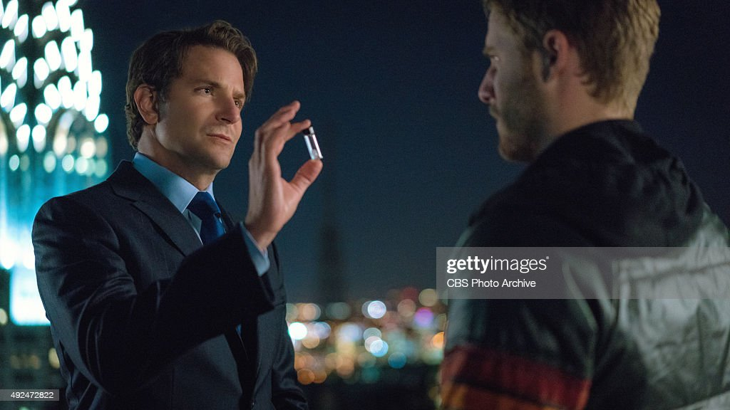 'Side Effects May Include¦' Pictured Bradley Cooper as Senator Edward Morra and Jake McDorman as Brian Finch on LIMITLESS to be broadcast Tuesday...