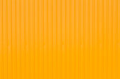 side of yellow container panel, yellow metal background