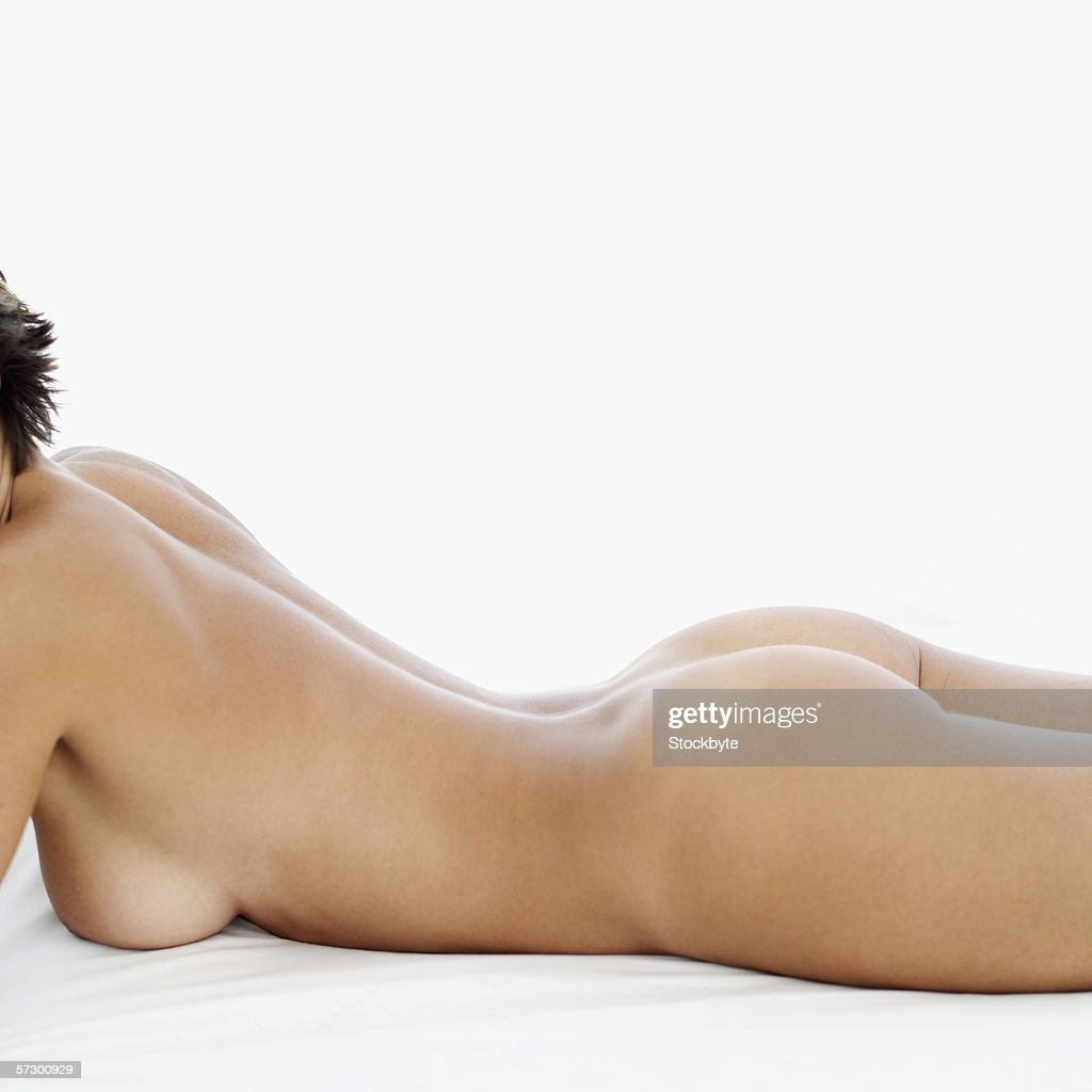 nude laying on stomach