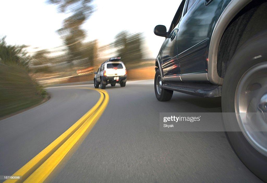 SUV side shot in corner 2