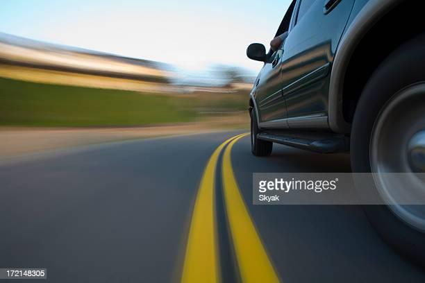 SUV side shot