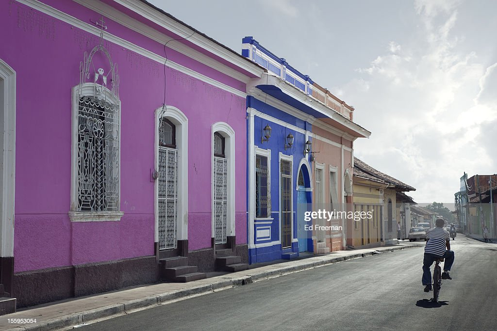 Side Street, Granada, Nicaragua
