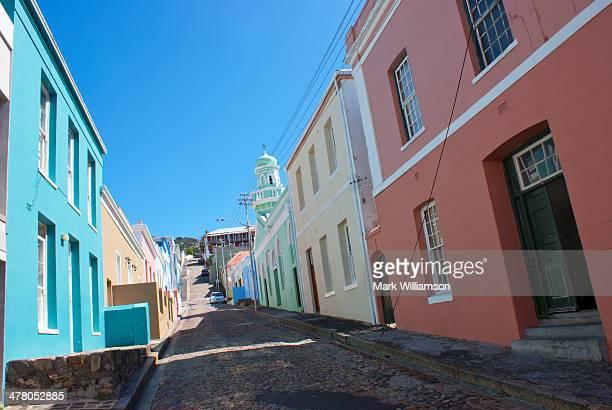 Side street in Bo Kaap, Cape Town.