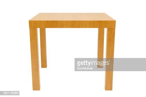 Lato tavolo isolato