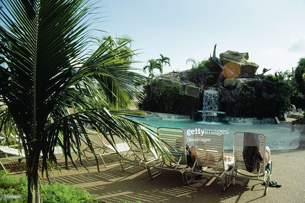Side View Of A Swimming Pool At Princess Hotel Freeport Bahamas Stock Photo Getty Images