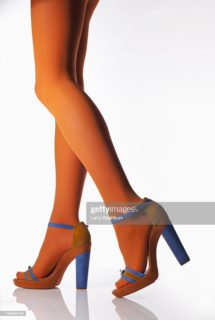 how to draw high heels side view