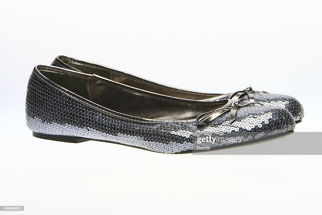 Side view of flat shoes