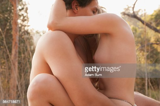 The naked man and naked eoman making love essence