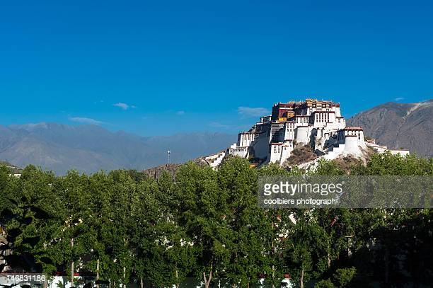 Side view of Potala palace