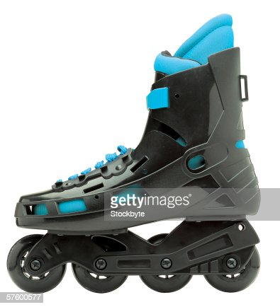 side view of roller blade skate