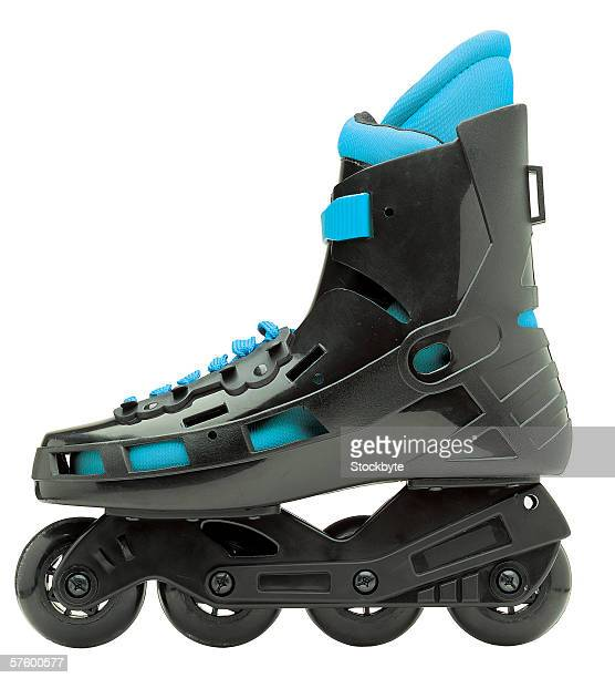 side view of roller blade skate
