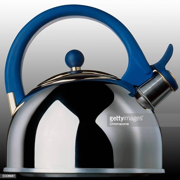Side view of tea kettle