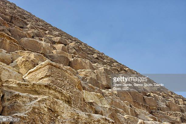 Side view of the great pyramid
