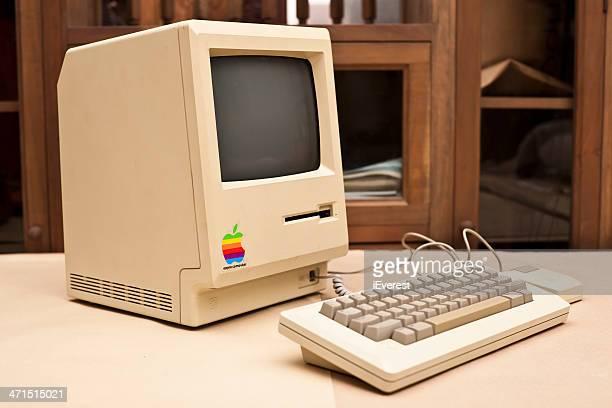 Side View of the Historic Macintosh 128k XXXL