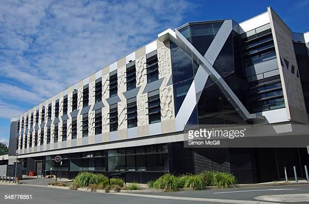Side view of the John Curtin School of Medical Research Building Australian National University Garran Road Acton Canberra Australian Capital...