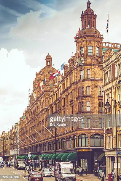 Sideview of Harrods