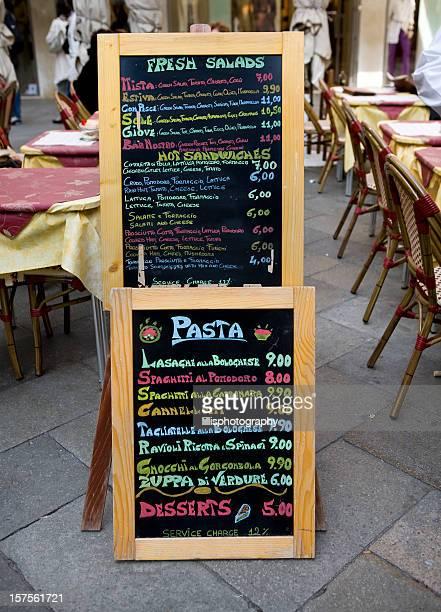 """Sidewalk Cafe """"Angebot in Venedig, Italien"""