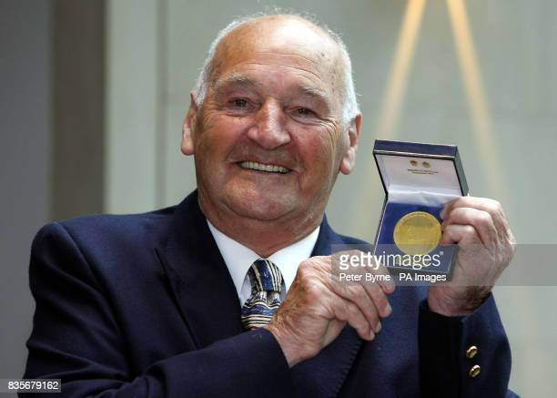 Sidney Bannister from Manchester who received a gold award at the Police Bravery Awards Ceremony at the Raddison Hotel in Manchester