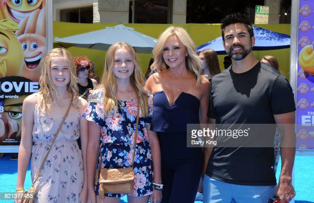 Sidney Barney Sophia Barney reality tv personality Tamra Judge and husband Eddie Judge attend the premiere of Columbia Pictures and Sony Pictures...