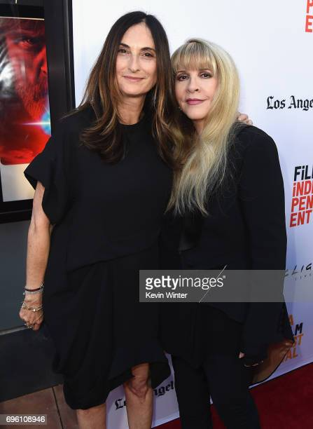 Sidney Kimmel Entertainment President of Production Carla Hacken and singersongwriter Stevie Nicks attend the opening night premiere of Focus...