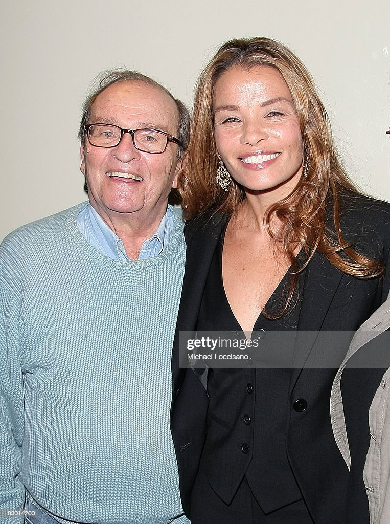Sidney Lumet and daughter, screenwriter Jenny Lumet attend a screening of 'Rachel Getting Married' hosted by The Cinema Society and Lancome at the Landmark Sunshine Theatre on September 25, 2008 in New York City.