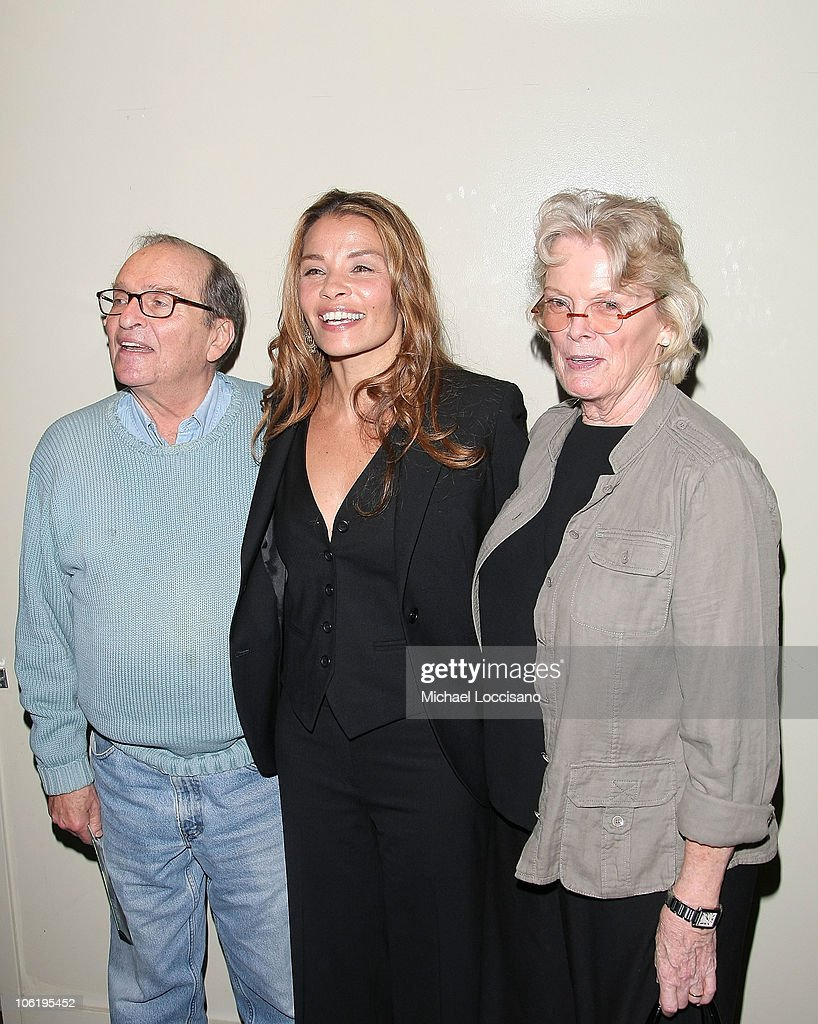 Sidney Lumet, daughter, screenwriter Jenny Lumet, and Mary Gimbel attend a screening of 'Rachel Getting Married' hosted by The Cinema Society and Lancome at the Landmark Sunshine Theatre on September 25, 2008 in New York City.