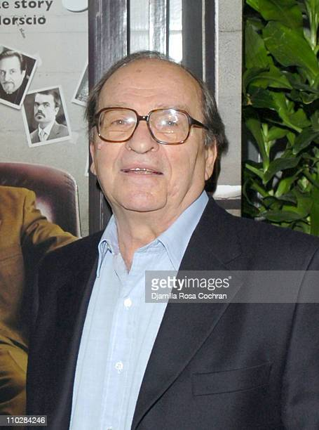 Sidney Lumet during 'Find Me Guilty' New York City Premiere Inside Arrivals at Sony Lincoln Square in New York New York United States