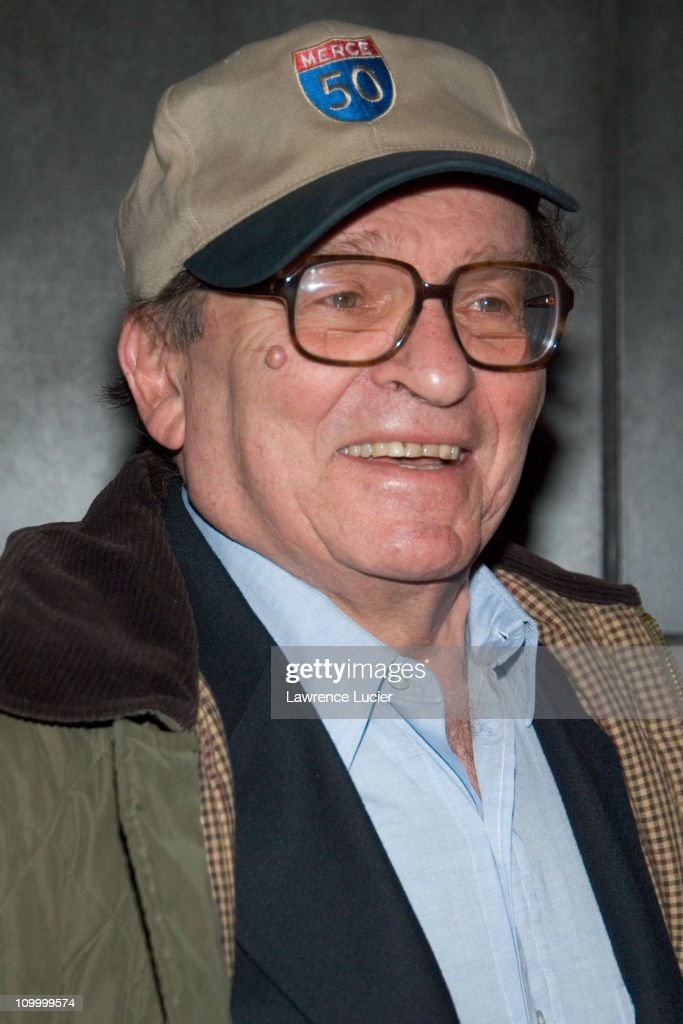 <a gi-track='captionPersonalityLinkClicked' href=/galleries/search?phrase=Sidney+Lumet&family=editorial&specificpeople=214143 ng-click='$event.stopPropagation()'>Sidney Lumet</a> during Find Me Guilty' New York Premiere - Arrivals at Sony Lincoln Square in New York City, New York, United States.