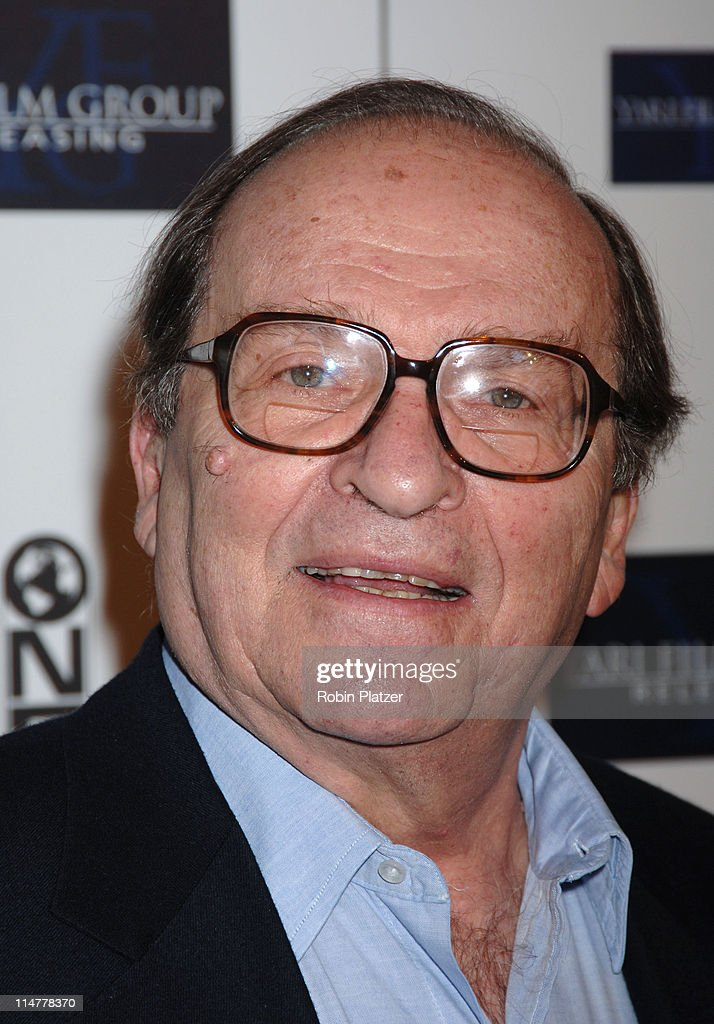 <a gi-track='captionPersonalityLinkClicked' href=/galleries/search?phrase=Sidney+Lumet&family=editorial&specificpeople=214143 ng-click='$event.stopPropagation()'>Sidney Lumet</a> during 'Find Me Guilty' New York Premiere - Inside Arrivals at Sony Lincoln Square in New York City, New York, United States.