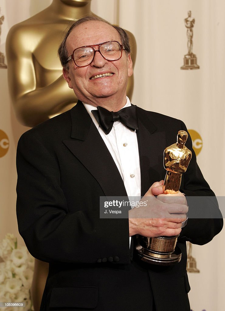 <a gi-track='captionPersonalityLinkClicked' href=/galleries/search?phrase=Sidney+Lumet&family=editorial&specificpeople=214143 ng-click='$event.stopPropagation()'>Sidney Lumet</a>, recipient of an Honorary Oscar during The 77th Annual Academy Awards - Deadline Room at Kodak Theatre in Hollywood, California, United States.