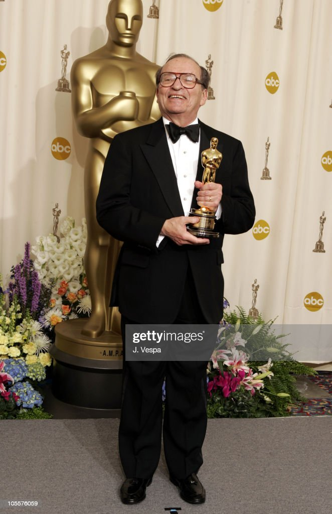 Sidney Lumet recipient of an Honorary Oscar during The 77th Annual Academy Awards Deadline Room at Kodak Theatre in Hollywood California United States