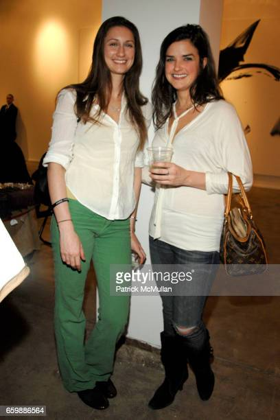 Sidney Murray and Lindsay Clark attend FEED's Annual Holiday FEEDRaiser Market at Chelsea Art Museum on December 8 2009 in New York