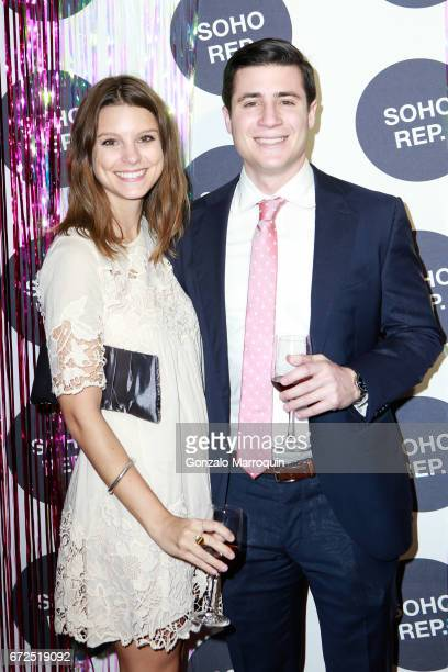 Sidney Rende and Greg Madormo attend the Soho Rep Spring 2017 Gala at The Lighthouse at Chelsea Piers on April 24 2017 in New York City