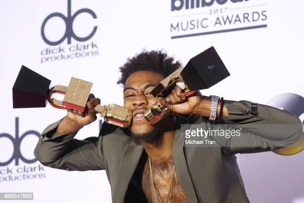 Sidney Royel Selby III aka Desiigner attends the 2017 Billboard Music Awards Press Room held at TMobile Arena on May 21 2017 in Las Vegas Nevada