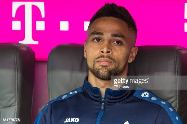 Sidney Sam of Darmstadt looks on during the Bundesliga match between Bayern Muenchen and SV Darmstadt 98 at Allianz Arena on May 6 2017 in Munich...