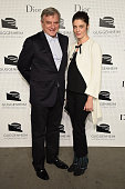 Sidney Toledano and Chiara Mastroianni attend the Guggenheim International Gala PreParty made possible by Dior on November 5 2014 in New York City