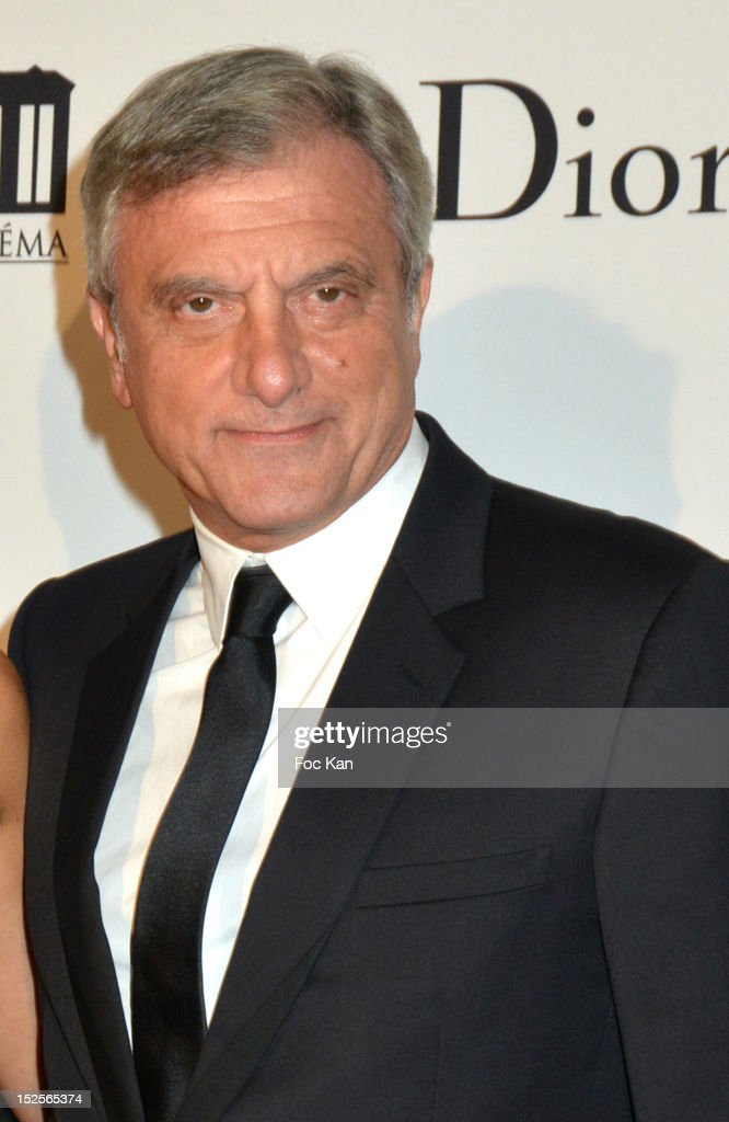 Sidney Toledano attends 'La Cite Du Cinema' Launch - Red Carpet at Saint Denis on September 21, 2012 Paris, France.