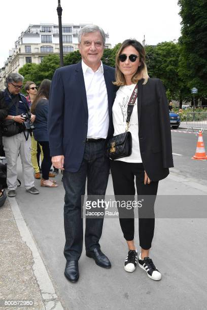 Sidney Toledano is seen arriving at Dior fashion show during Paris Fashion Week Menswear Spring/Summer 2018 on June 24 2017 in Paris France