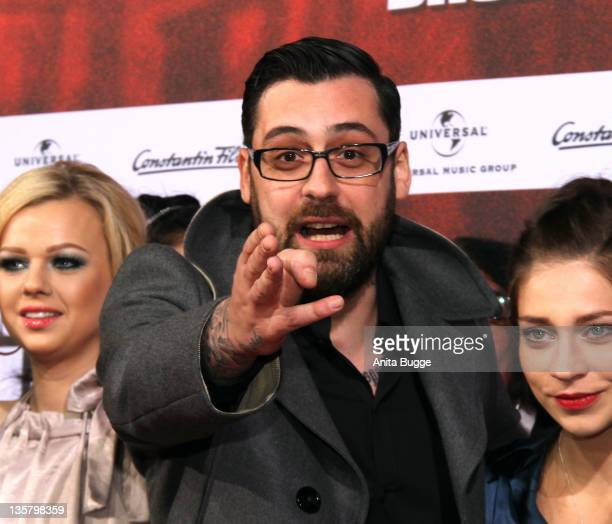 Sido attends the 'Blutzbruedaz' premiere at CineStar Sony Center on December 14 2011 in Berlin Germany