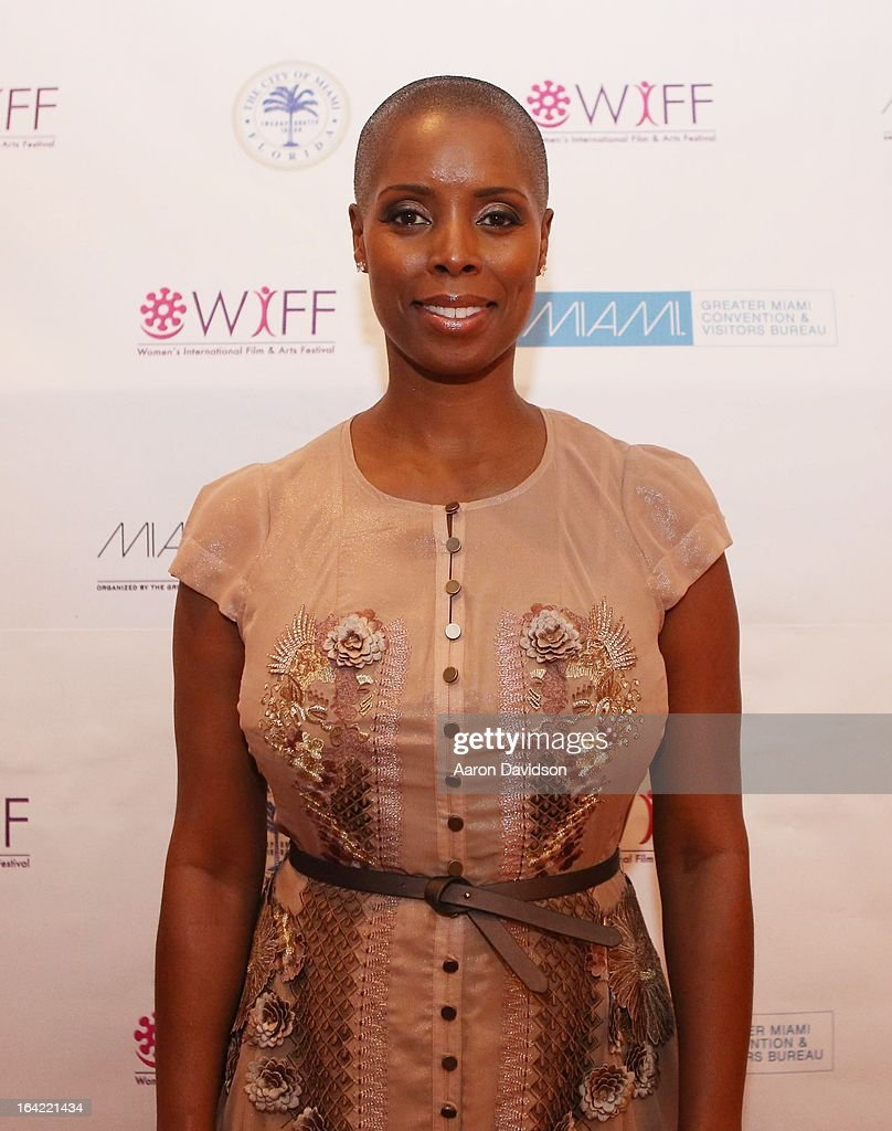 Sidra Smith attends opening night screening of 'Free Angela' during the 2013 Women's International Film and Arts Festival at Adrienne Arsht Center on March 20, 2013 in Miami, Florida.