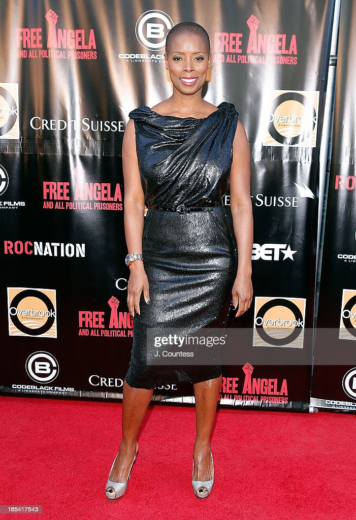 Sidra Smith attends the 'Free Angela and All Political Prisoners' New York Premiere at The Schomburg Center for Research in Black Culture on April 3, 2013 in New York City.