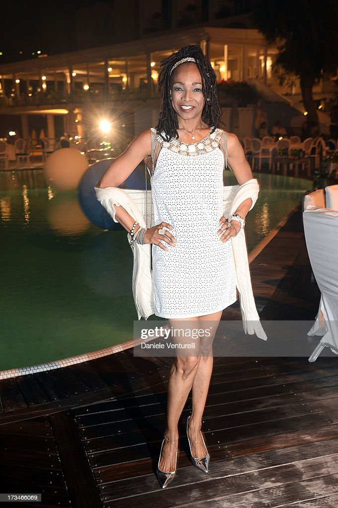 <a gi-track='captionPersonalityLinkClicked' href=/galleries/search?phrase=Siedah+Garrett&family=editorial&specificpeople=3013322 ng-click='$event.stopPropagation()'>Siedah Garrett</a> attends Day 2 of the 2013 Ischia Global Fest on July 14, 2013 in Ischia, Italy.