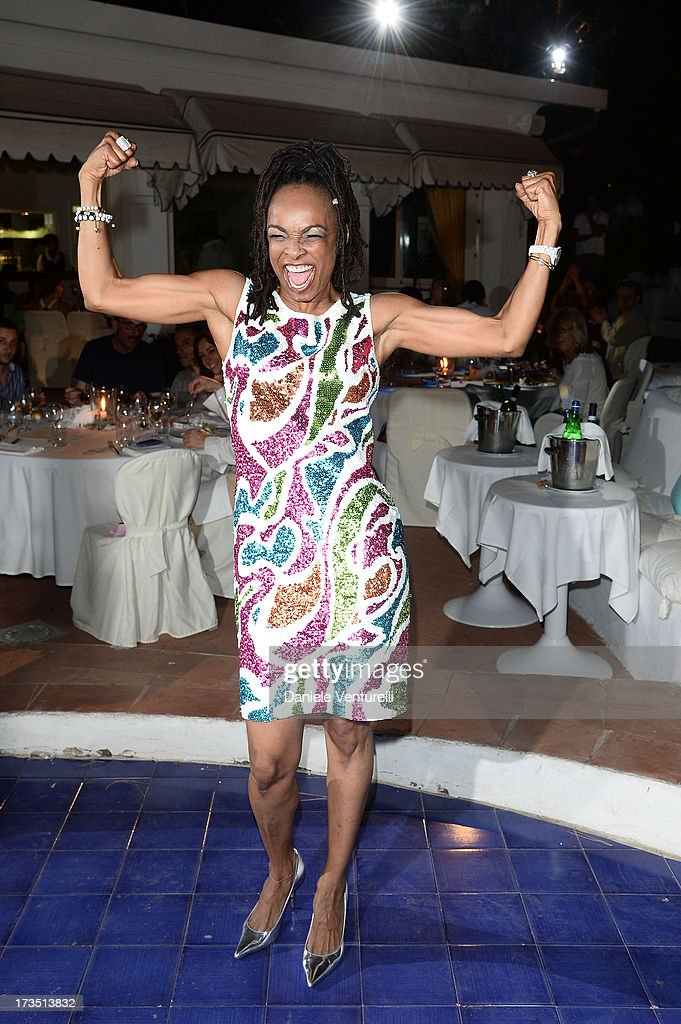 Siedah Garrett attends the Day 3 of Ischia Global Fest 2013 on July 15, 2013 in Ischia, Italy.