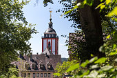 siegen town germany in the summer