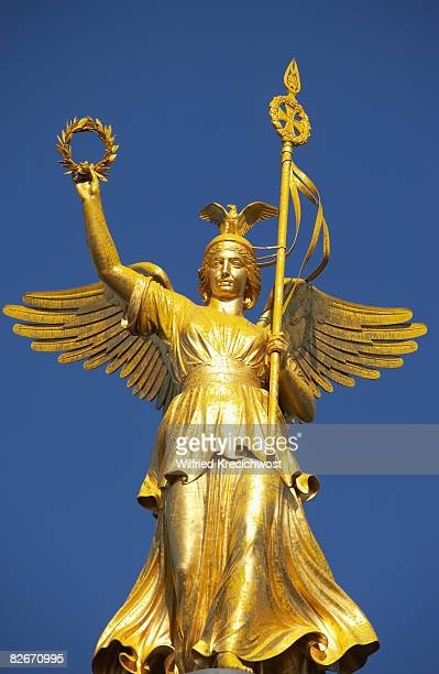Siegessaeule, Victory Column, Gold Else, close up