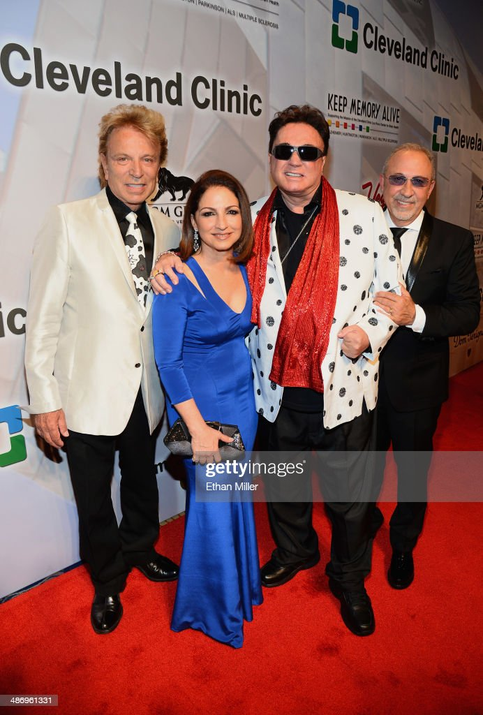 """Keep Memory Alive's 18th Annual """"Power Of Love"""" Gala Honoring Gloria And Emilio Estefan Jr. - Red Carpet"""