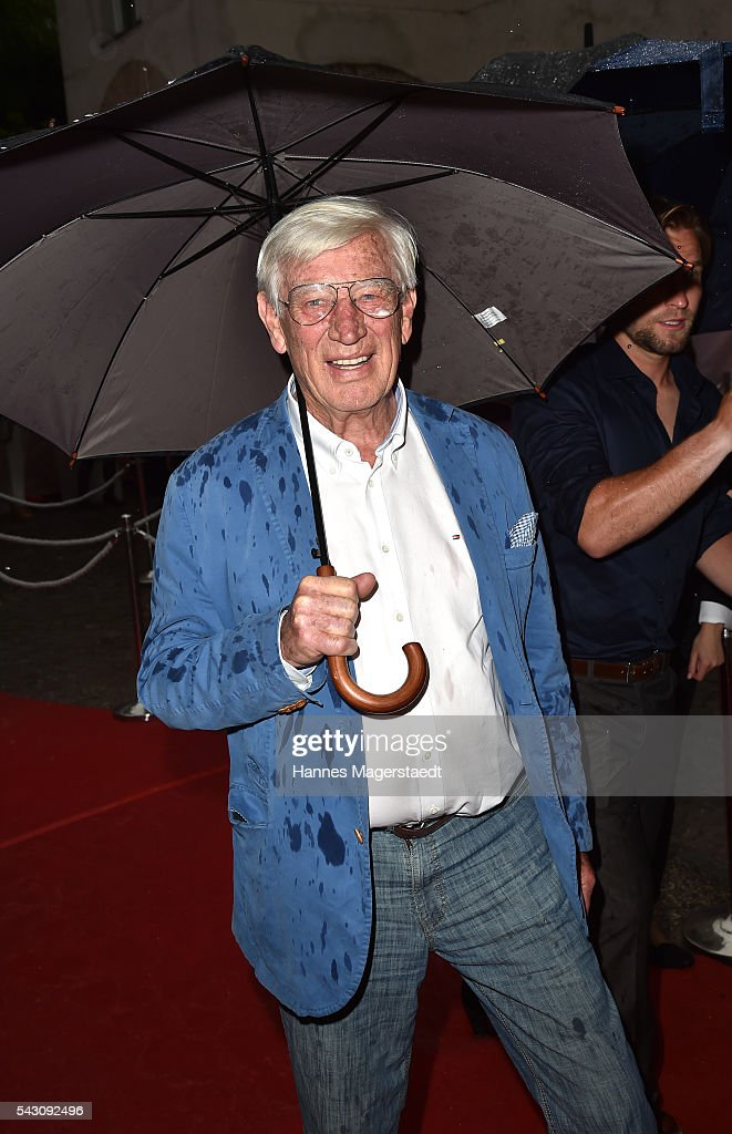 Siegfried Rauch duringthe Audi Director's Cut during the Munich Film Festival 2016 at Praterinsel on June 25, 2016 in Munich, Germany.